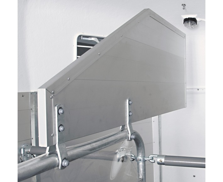 Hingstegitter, aluminium